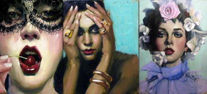 Малкольм Липке: портретист, влюбленный в женщин