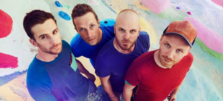Coldplay «Kaleidoscope»: электронная волная