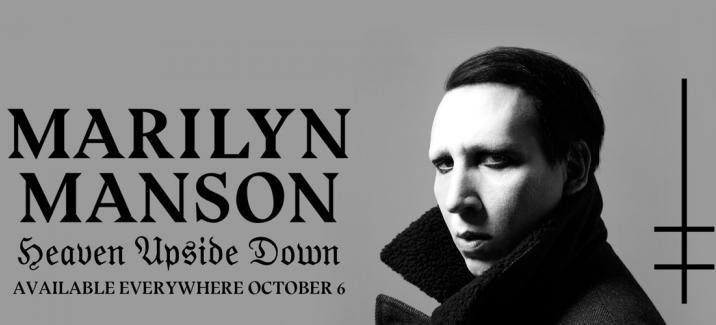 Marilyn Manson презентовал альбом «Heaven Upside Down»