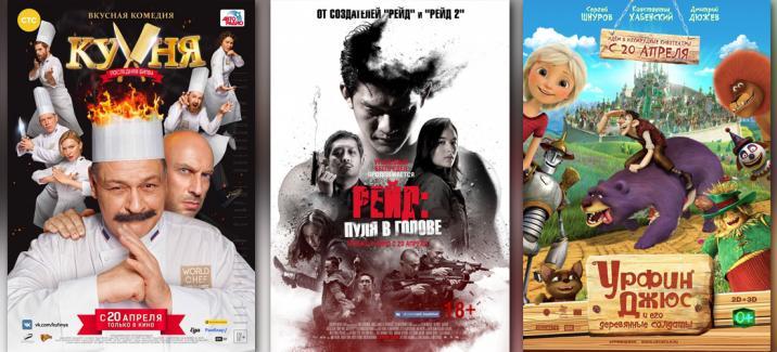 Кинопремьеры третьей недели апреля 2017