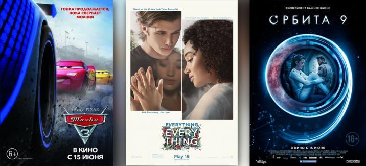 Кинопремьеры третьей недели июня 2017