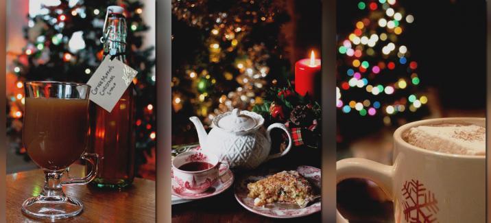 Сахарный сироп с ароматом зимних праздников