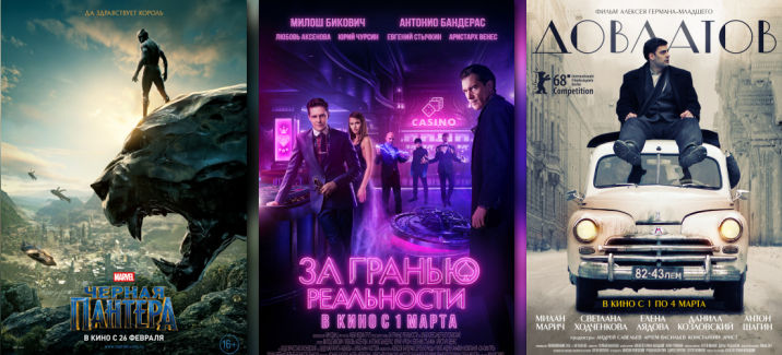 Кинопремьеры первой недели марта 2018