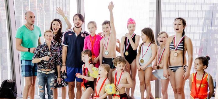 Первая медаль Яны Аршавиной на Детских Олимпийских Играх