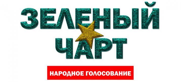 Народное голосование «Зеленый Чарт». Август 2016