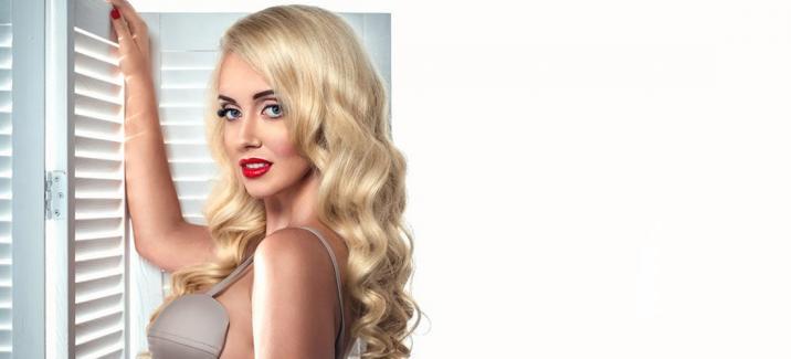 Украинская красавица Sasha Ray произвела впечатление на мир fashion - показом вышиванок